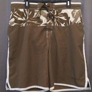 Speedo Large Brown Board Shorts